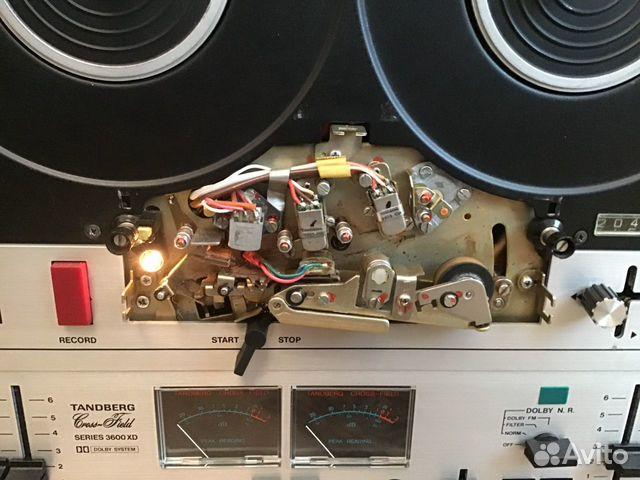 Катушечный магнитофон Tandberg 3600 профилактика 89136470251 купить 4