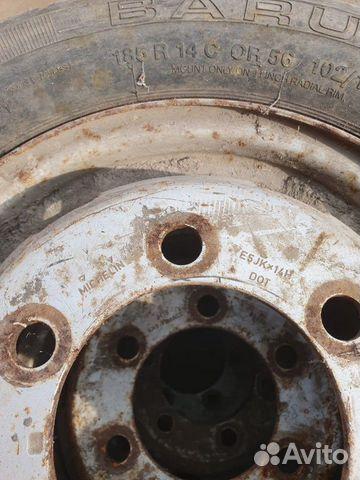 Колеса в сборе Volkswagen LT 40 1992 года 89529534351 купить 4