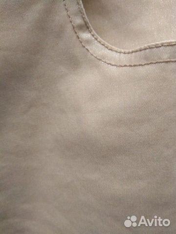 Джинсы р.XS новые,бежево-песочного цвета купить 7