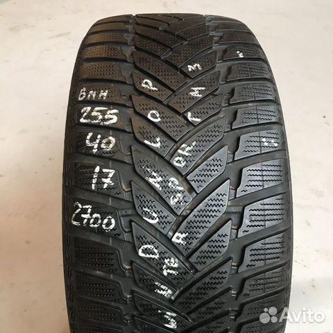 89380001718 255/40/17 Dunlop SP Winter Sport M3 (6 mm) - 1 шт