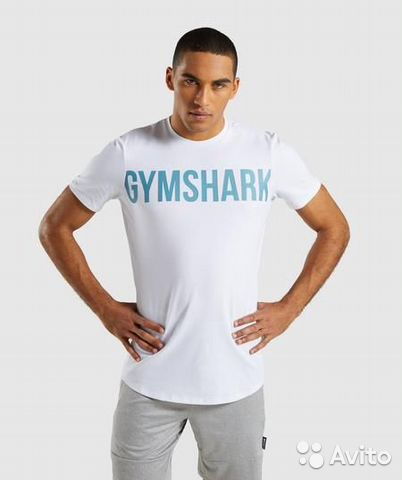 89229092100 Мужская футболка gymshark оригинал