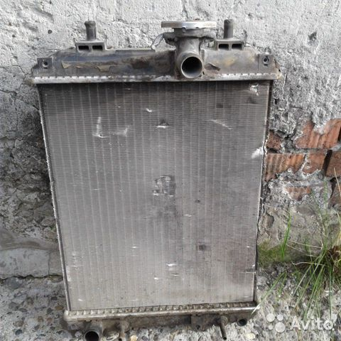 Радиатор для машины тойота passo  купить 1