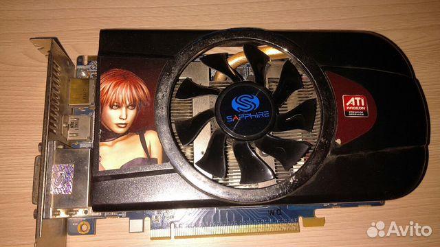 Видеокарта PCI-E ATI Radeon HD5770 1024MB купить 2