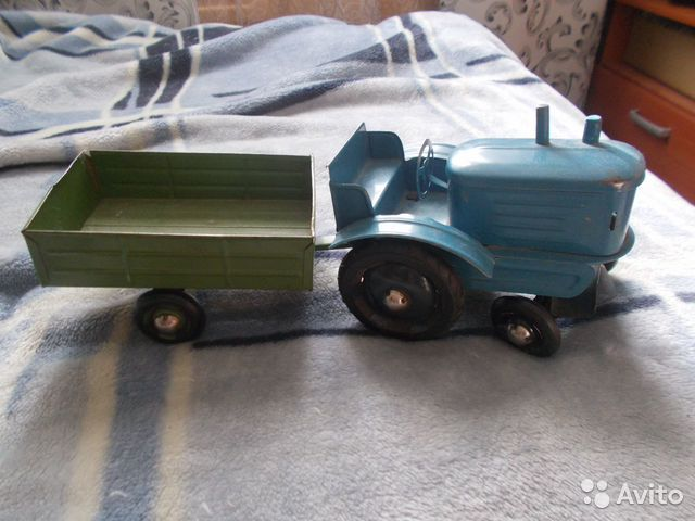 туник трактор с прицепом игрушка ссср фото последние годы