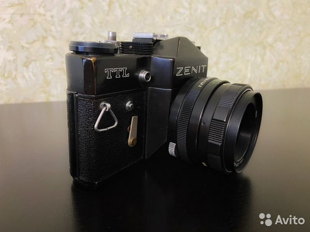 Зенит TTL СССР + Гелиос 44-М Zenit Helios 89831134515 купить 3
