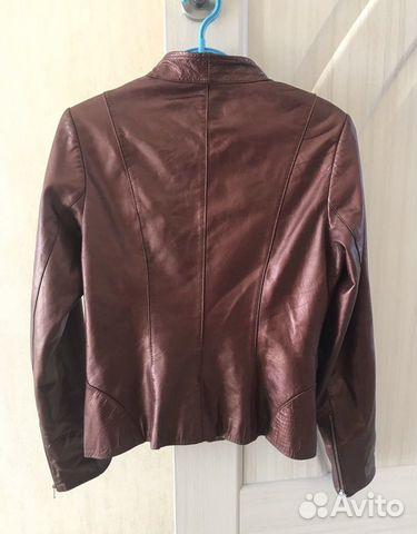 Куртка натуральная кожа жакет  89097870553 купить 2