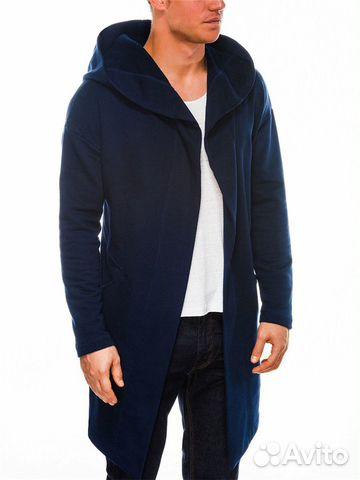 Новая Синяя Мантия с капюшоном 89787830007 купить 2