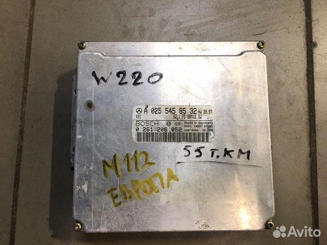 Блок управления двигателем M112 mercedes 89872260290 купить 1