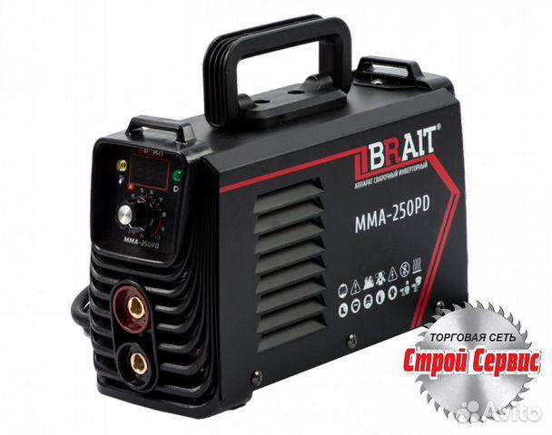 Сварочный аппарат инвертор Brait MMA-250PD
