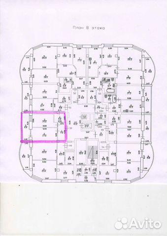 1-к квартира, 47.2 м², 8/16 эт. 89052988614 купить 4