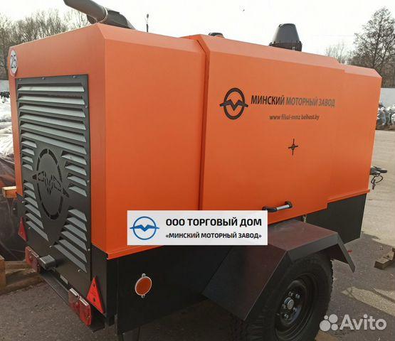 Kompressor skruv med diesel MMZ-пв6/0,7Р2 89652020201 köp 1