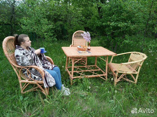 Комплект плетеной мебели  89805310848 купить 2