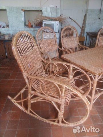 Комплект плетеной мебели  89805310848 купить 7
