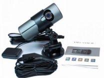 Видеорегистратор DVR-R300 2 камеры GPS