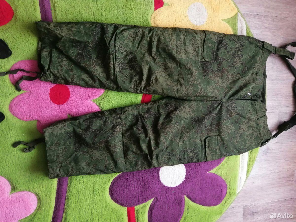 Штаны, зимние новые камуфляжные  89009937451 купить 1