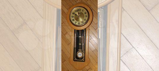 Настенные часы Кварцевые с маятником