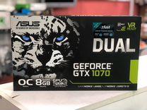 Видеокарта GTX 1070 Asus Dual 8GB — Товары для компьютера в Москве