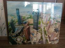 Картина на стекле — Мебель и интерьер в Москве