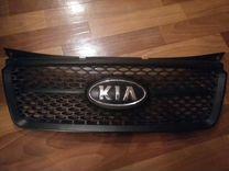 Решетка радиатора на KIA picanto