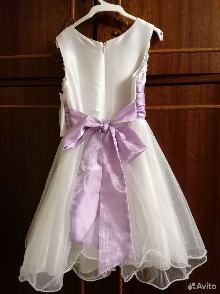 Платье нарядное на рост 104 - 110
