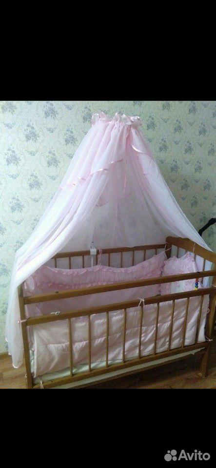 Балдахин кроватка