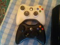 Xbox 360 + 2 геймпада(Прошитая)