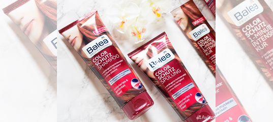 шампунь и кондиционер Balea для окрашенных волос