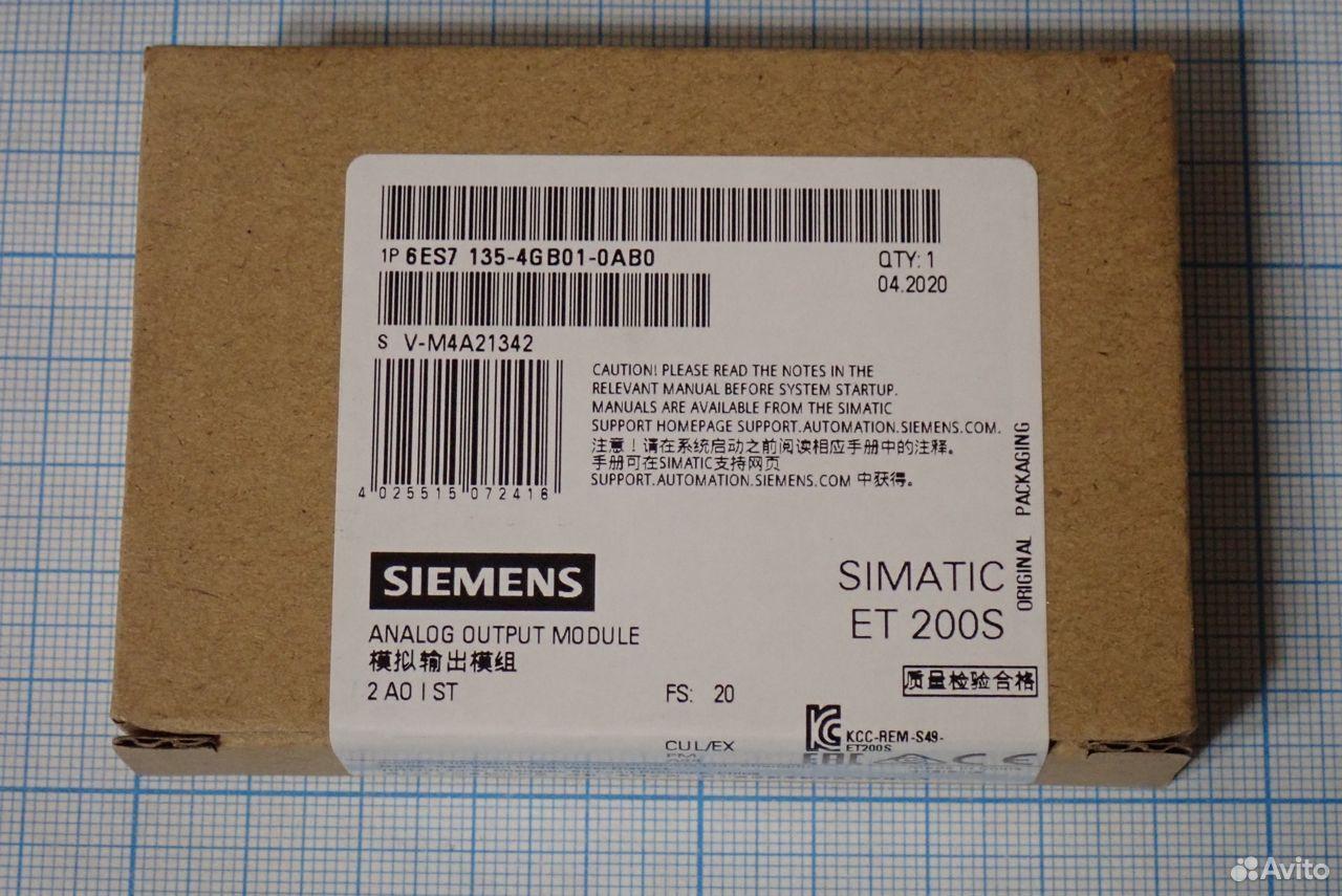 Модуль siemens 6ES7 135-4GB01-0AB0
