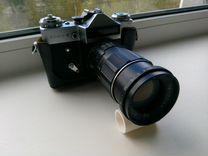 """Фотоаппарат """"zenit - E"""" + объектив """"юпитер - 11 А"""" — Фототехника в Петрозаводске"""