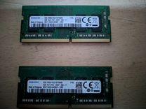 DDR4 Corsair 8gb, SAMSUNG 2x4gb — Товары для компьютера в Москве
