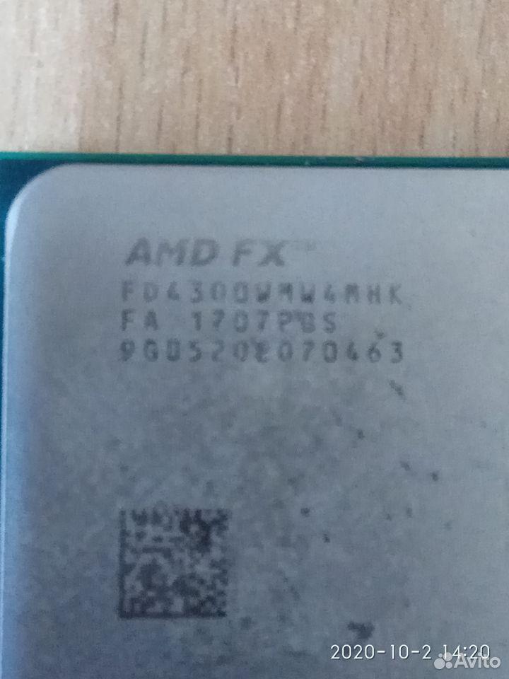 Процессор CPU AMD FX-4300 (FD4300W)