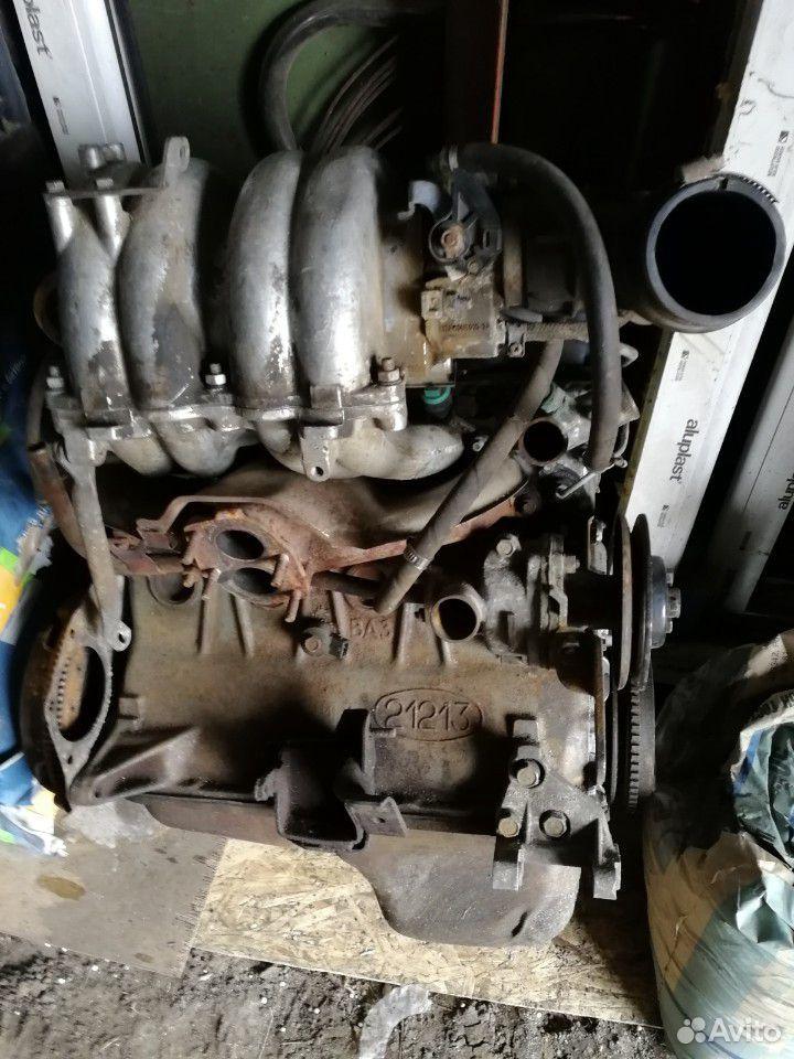 Двигатель 1.7 нива инжекторный