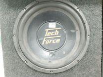 Авто сабвуфер tech force (кр)