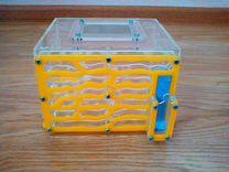 Формикарий Куб с колонией муравьев Messor Structor