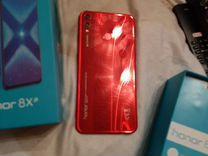 Хонор 8х Red, 64/128 gb