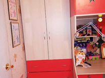 Детская кровать, стол, шкаф, комод