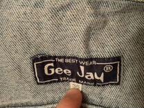 Джинсовая куртка Gee Jay — Одежда, обувь, аксессуары в Москве
