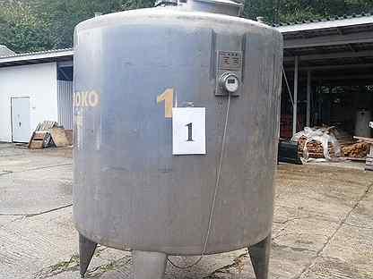 Ёмкость 3000 литров из пищевой нержавейки