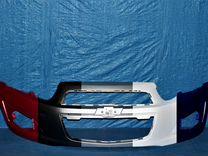 Бампер передний на Chevrolet Aveo