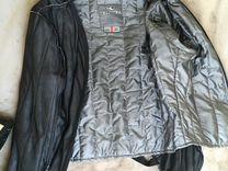 Кожаная мото куртка Clover, новая