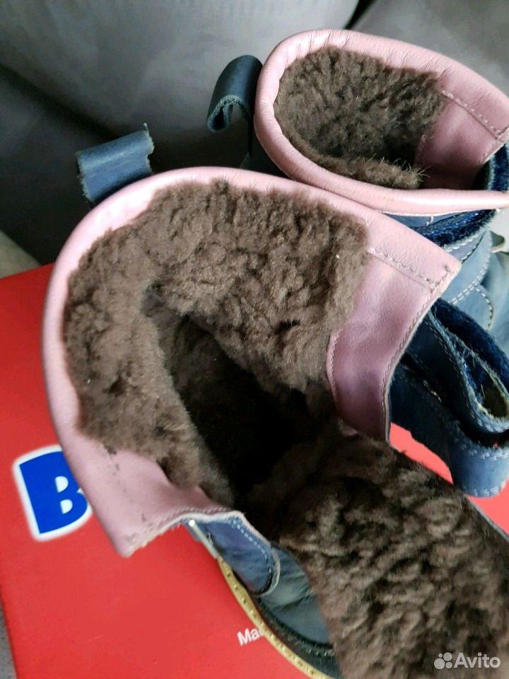 Зимние ботинки, натуральные кожа и мех  89102008752 купить 3