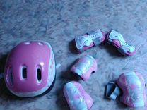 Ролики, шлем, наколенники, налокотники