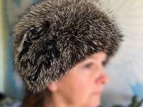 Меховая шапка лиса