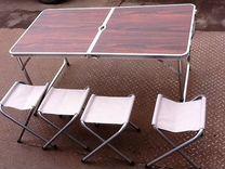 Набор стол +4 стула