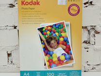 Фотобумага А4 матовая 120г/м 100л. Kodak