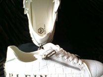 Кроссовки,мужские,белые,фирма pleln r.41