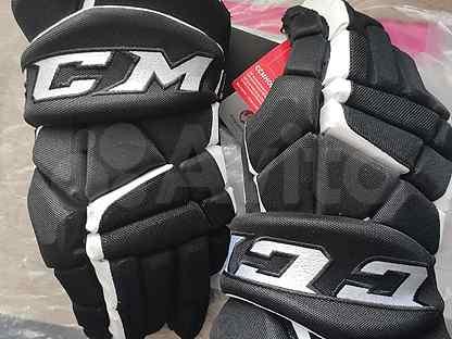 Перчатки CCM Tacks 9080 SR 15 чёрные