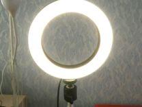 Лампа кольцевая (новая)