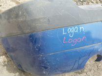 Задний бампер Renault Logan