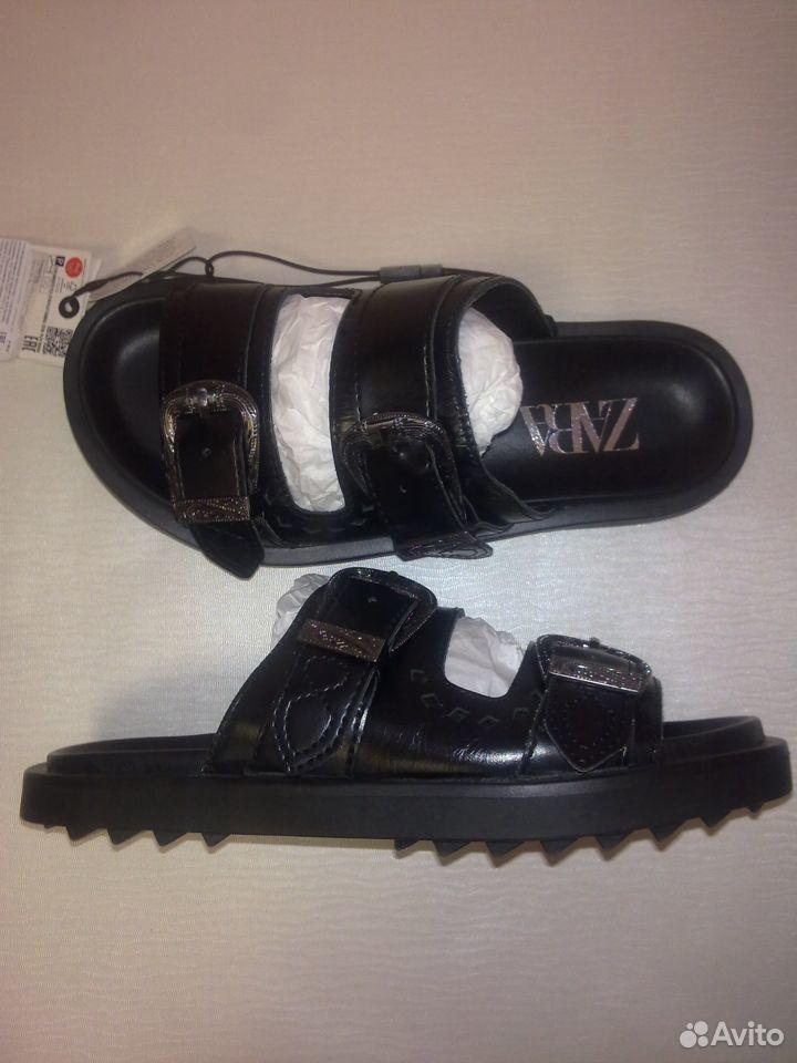 Новые бомбезные сандалии Zara  89050263348 купить 8
